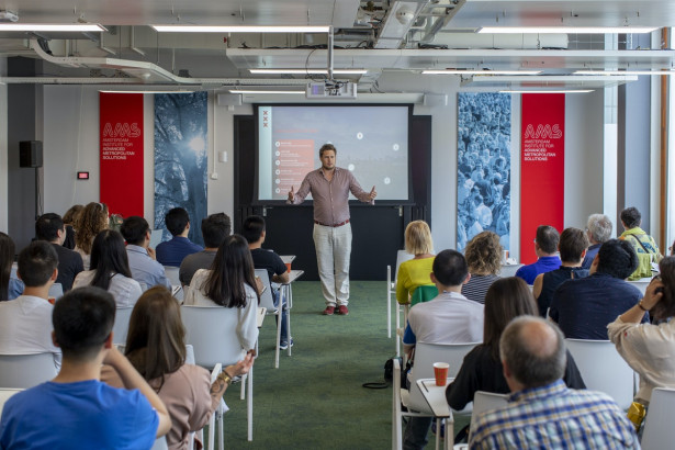 Aik van Eemeren introduces City of Amsterdam's Digital Agenda and approach to digitalization